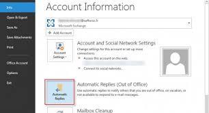 absence bureau outlook outlook 8 trucs et astuces pour maitriser le client mail de microsoft