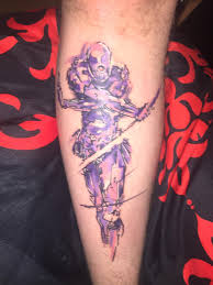 my new metal gear solid tattoo gaming
