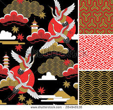 japanese floral vector free vector stock graphics