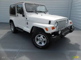 sahara jeep white 2001 stone white jeep wrangler sahara 4x4 78698394 gtcarlot com