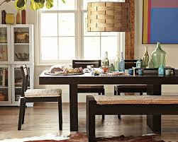 Modern Dining Table Designs 2014 Interior Bottle With Various Shape On Dark Brown Wooden Dining