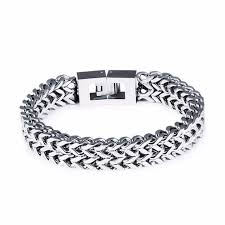 bracelet man silver stainless steel images 25 best l c tay inox stainless steel images jpg