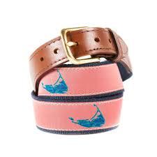 preppy ribbon belts nantucket ribbon belt knot clothing belt co