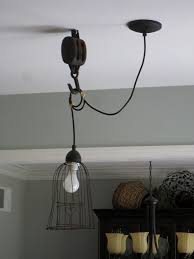 Pulley Pendant Light Pendant Light W Pulley I Want To Find Ways Of Using The