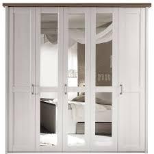 Schlafzimmer Komplett Luca Schlafzimmer Luca Pinie Weiß Kleiderschrank 5trg Mit Spiegel