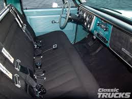 Chevrolet C10 Interior C10 Truck Interior Classic Chevy C10 Trucks Pinterest C10