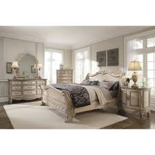 Slay Bedroom Set Empire Sleigh Bedroom Set Parchment