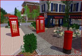mod the sims request british phone booth and british mailbox
