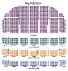 radio city seating chart with seat numbers