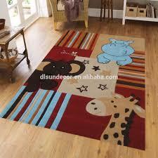 new design cartoon kids animal print carpet tiles buy animal