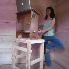 Stand Up Sit Down Desk by Barefoot Office Kit 3 U2013eco Tower Footloose And Chairfree