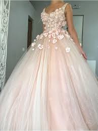 simple quinceanera dresses buy gown v neck floor length pearl pink tulle quinceanera
