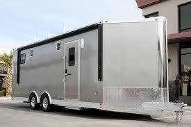 Cargo Trailer Awning 28 U0027 Aluminum Wedge Bathroom Becker Custom Trailers