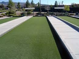Fake Grass For Backyard by Artificial Grass Is The Best Bocce Ball Court Surface Bocce