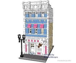 Lego House Floor Plan 161 Best Legos Instructions Images On Pinterest Lego Modular