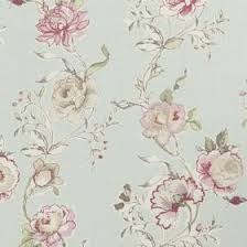 Duck Egg Blue Floral Curtains Clarisse Fabric Collection Clarke And Clarke Curtains U0026 Roman