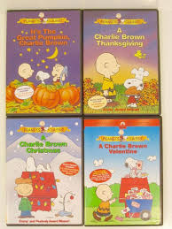 charlie brown thanksgiving dvd its the easter beagle charlie brown vhs