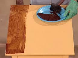 How To Make A Wooden End Table how to paint a faux wood grain how tos diy