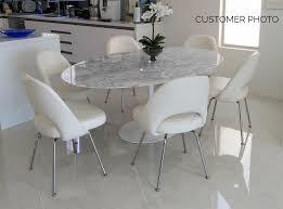home design dazzling tulip marble table eero saarinen style oval