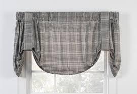 Tie Up Window Curtains Ballard Paisley Print Tie Up Shade Window Curtain Window Toppers