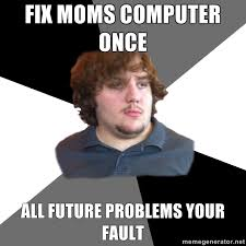 Creeper Meme Generator - family tech support guy the mary sue