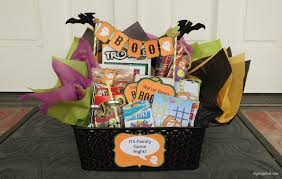 Game Night Gift Basket You U0027ve Been Booed Idea With Printables Diy Inspired