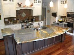 countertops wooden small island granite countertop gray stained