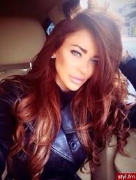 best hair color for hispanic women red hair color is considered a bold color for hair but many women