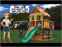 outdoor playsets images on astonishing backyard playground sets