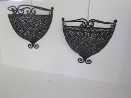 wrought iron wall planters wrought iron wall mounted plant holder of 14 ingenious ideas of