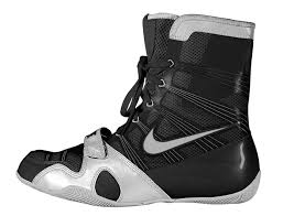 s boxing boots australia nike hyperko boxing boots black silver