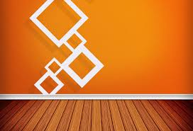 Interior Wall Design Orange Wall Interior Design Trend Rbservis Com
