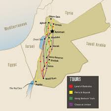 Dead Sea Map Experience Jordan Tours U0026 Holidays Travel The Unknown