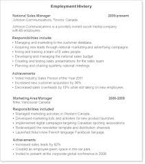 how to write a resume exles employers association of nj resume employment history resume templates exles employment