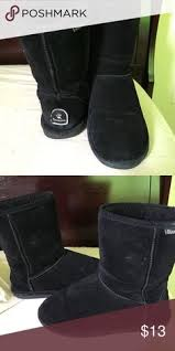 womens style boots size 11 bearpaw boots black bearpaw boots these boots only worn a