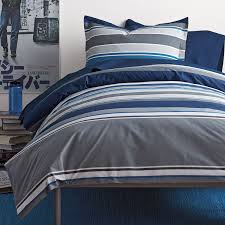 crawford dorm betting striped duvet cover the company store