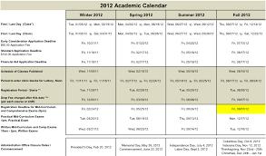 academic calendar 2012 rev082112