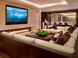 interior designs amazing media room decor with led lighting