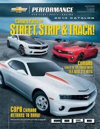 2012 camaro performance parts 2013 chevrolet performance catalog features camaro parts for