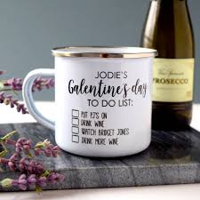 s day mug personalised galentine s day mug by the alphabet gift shop