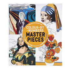 colour by numbers masterpieces at wilko com