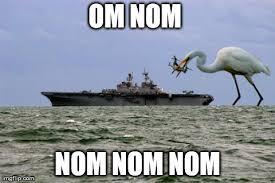 Nom Nom Nom Meme - image tagged in osprey imgflip