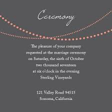 ceremony cards wedding reception cards and wedding ceremony cards by basic invite