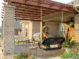 Pergola Blueprints Free by How To Build A Pergola Attached To The House Design And