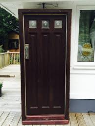 Solid Timber Front Door by Interior Design 1920s Front Door Reclaimed 1920s Front Door
