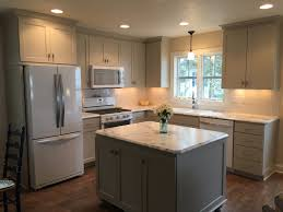 Cream Cabinets In Kitchen Decorating Astounding Crystalize Formica Calacatta Marble Fot Top
