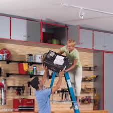 How Big Is A 3 Car Garage by 11 Easy Garage Space Saving Ideas Family Handyman