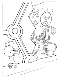 chiken little coloring pages