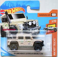wheels land rover 2018 wheels 2018 hw trucks 15 land rover defender double cab