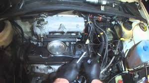 vw a2 1 8l head gasket removal coolant out the exhaust youtube